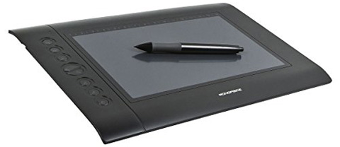 2. The Monoprice 10 x 6.25-inch Graphic Drawing Tablet