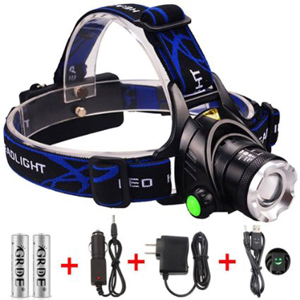 8. GRDE LED Headlamp