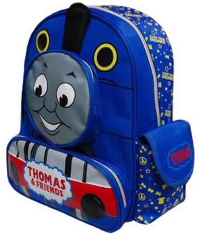 6. The Fashion High Quality Baby Toddler Nursery Thomas Friends The Tank Train Cartoon Canvas Travel Backpack