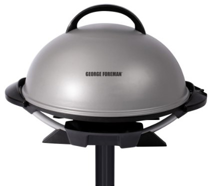3. George Foreman GFO240S Indoor/Outdoor Electric Grill