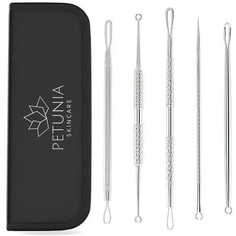 5. Professional Blackhead & Acne Remover Kit to Treat Every Facial Impurities & Blemishes