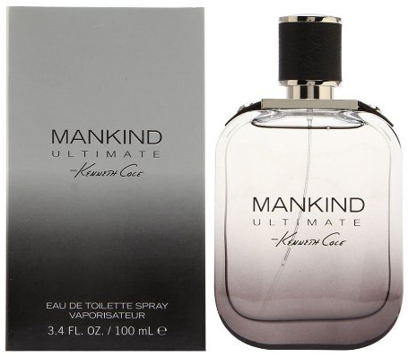 3. Kenneth Cole Mankind Ultimate Eau De Toilette Spray for Men, 3.4 Fluid Ounce