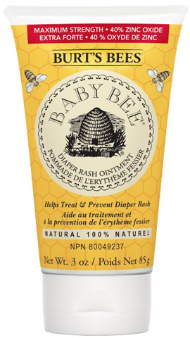 8. Burt's Bees Baby Bee 100% Natural Diaper Rash Ointment