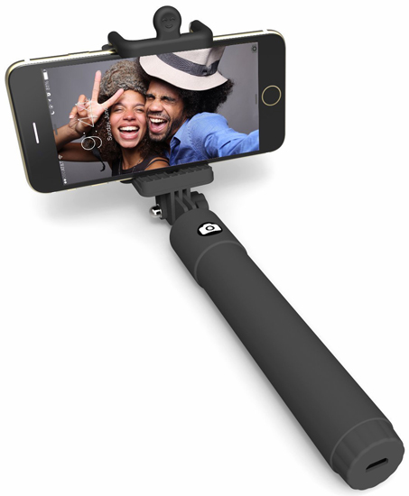 01. Selfie Stick, Perfect day Foldable Extendable Bluetooth Selfie Stick