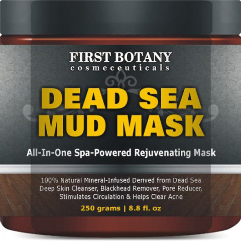 5. Natural Mineral Infused Dead Sea Mud Musk