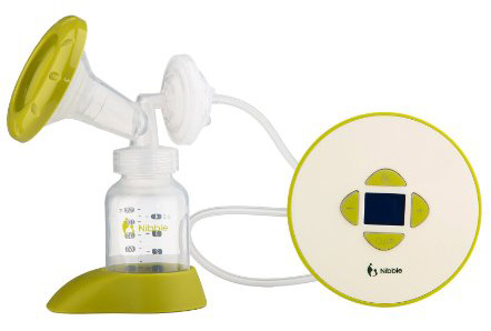 2. Nibble Portable Electric Breast Pump
