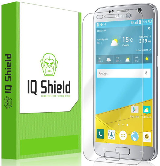 5. Galaxy S7 Screen Protector [Full Coverage], IQ Shield LiQuidSkin