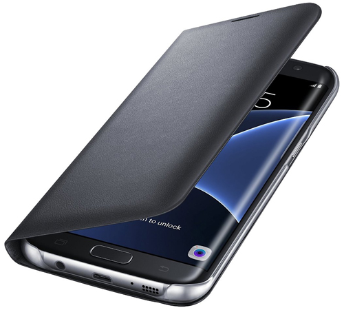 1. Led View Flip Cover Samsung Galaxy S7 Edge Case