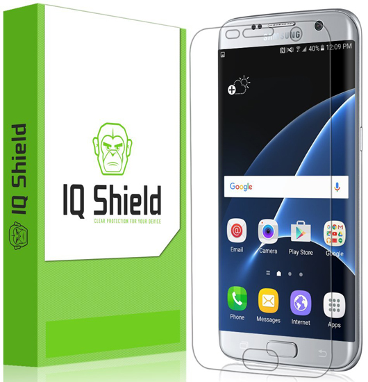 1. Galaxy S7 Edge Screen Protector [Full Coverage], IQ Shield LiQuidSkin