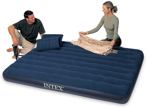 9. Intex Classic Downy Airbed