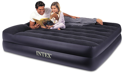 2. Intex Pillow Rest Raised Airbed