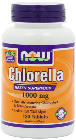 9. NOW Foods Chlorella 1000mg