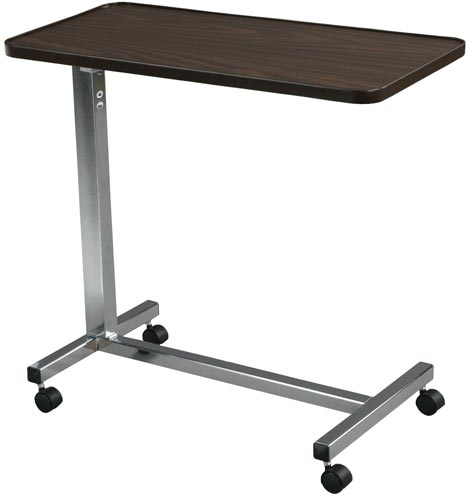 7. Drive Medical Non Tilt Top Over-bed Table