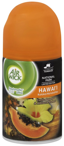 5. Air Wick Freshmatic Automatic Spray Air Freshener, National Park Collection, Hawaii, 1 Refill, 6.17 Ounce