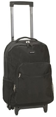 4. Rockland Luggage 17 Inch Rolling Backpack