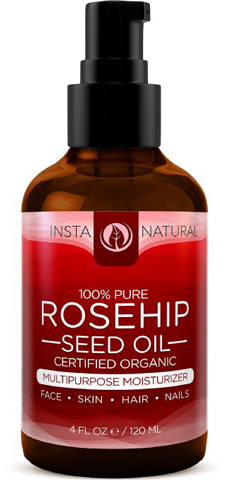 2. InstaNatural Organic Roseship Seed Oil-100% Pure & Unrefined Virgin Oil