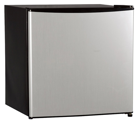 8. Midea Single Reversible Door Refrigerator, 1.6 Cubic Feet