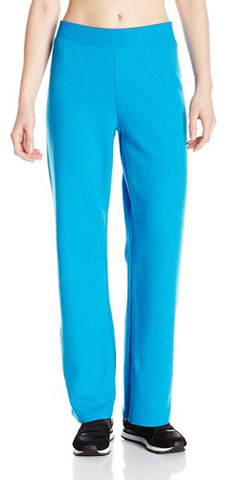 7. Hanes Women's Petite Middle Rise Pant Length