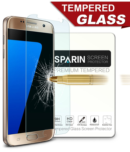 14. [2 Pack] Galaxy S7 Screen Protector, SPARIN®