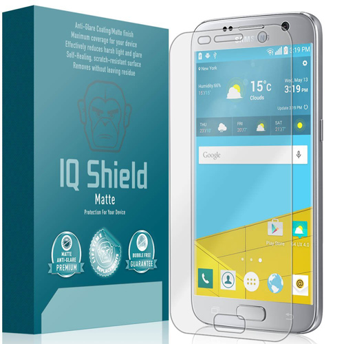 8. IQShield® Matte - Samsung Galaxy S7 Anti-Glare Screen Protector