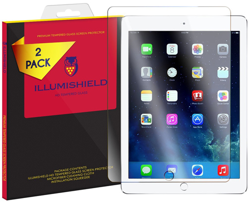 6. ILLumiShield HD Tempered Glass Screen Protector.