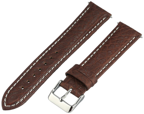 4. Voguestrap Genuine Leather Watch Band
