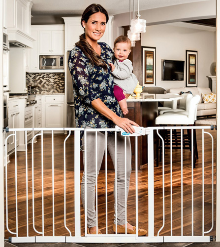 6. Regalo Extra WideSpan Safety Gate