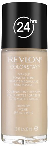 10. Revlon ColorStay Makeup, Combination/Oily Skin