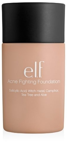 4. E.l.f. Acne Fighting Foundation Ivory