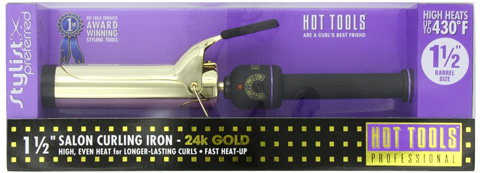 9. Hot Tools Professional 1102 Curling Iron with Multi-Heat Control