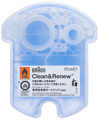 1. Braun Clean and Renew Cartridge Refills