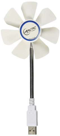 7. ARCTIC Breeze Mobile Portable Fan
