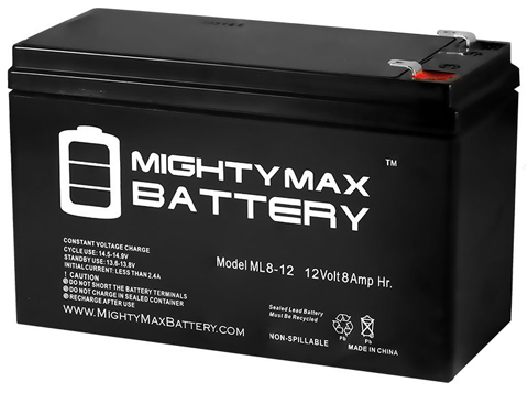 5. Mighty Max ML8-12 12V 8AH for GT12080-HG FiOS Systems