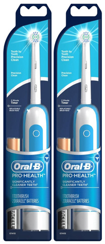 3. Precision Clean Battery Toothbrush