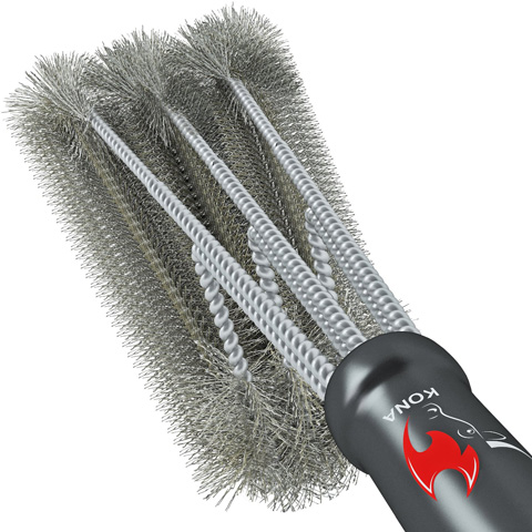 4. 360° CLEAN GRILL BRUSH By Kona(TM) - 18