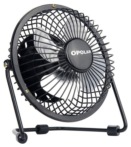 9. OPOLAR Mini USB Table Desk Fan