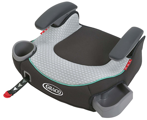 1. Graco TurboBooster LX No Back Car Seat, Basin