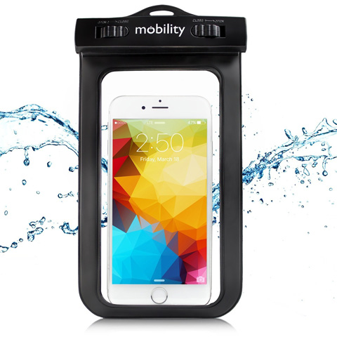 9. Mobility Universal Waterproof Phone Case