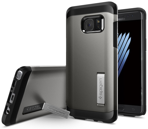3. Galaxy Note 7 Case By Spigen (Tough Armor)