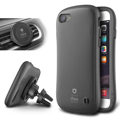 14. iPhone 7 Case and Car Holder, iFace
