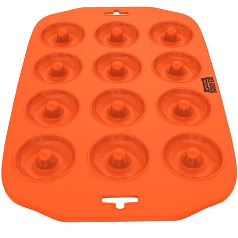 8. Silicone Mini Donut Maker Baking Pan Tray