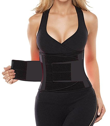 7. Camellias Corsets Women's Waist Trainer Belt