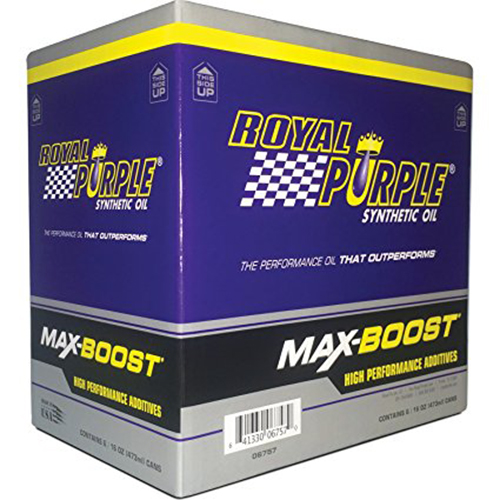 7. Royal Purple 06757 Max-Boost Octane Booster & Stabilizer