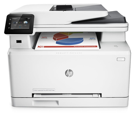 One. HP LaserJet Pro Wireless Color Printer