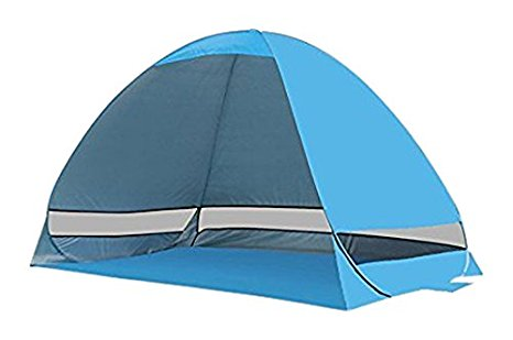 7. PortableFun Pop Up UV Beach Tent
