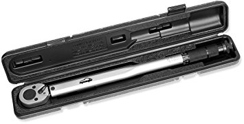 Tekton 24335 1//2-Inch Drive Click Torque Wrench 10-150 Ft.-Lb.//13.6-203.5 Nm