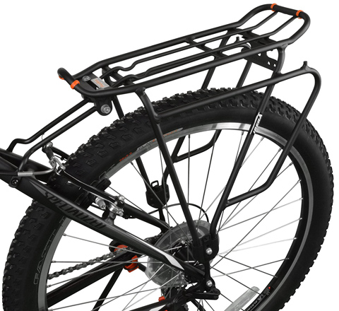 02. Ibera PakRak Bicycle Touring Carrier Plus+ RA4 - Bike Cargo Rack