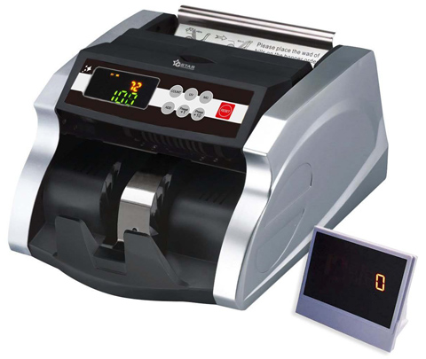 07. G-Star Technology Money Counter With UV/MG W/Counterfeit Bill Detection