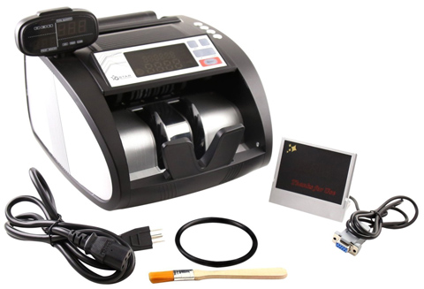 03. G-Star Technology Money Counter With UV/MG/IR Counterfeit Bill Detection