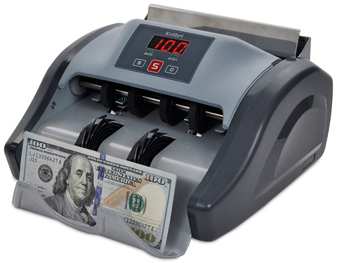 09. Kolibri Money Counter with UV Detection and 1-year Warranty
